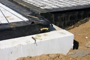 Izgradnja podruma hidroizolacija